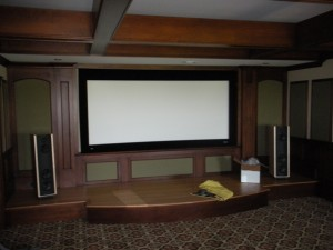 Customer Home Theater Installation